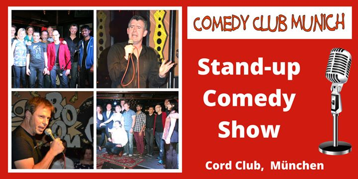 Marketing Exhibition Stand Up Comedy : Stand up comedy show english german cord club