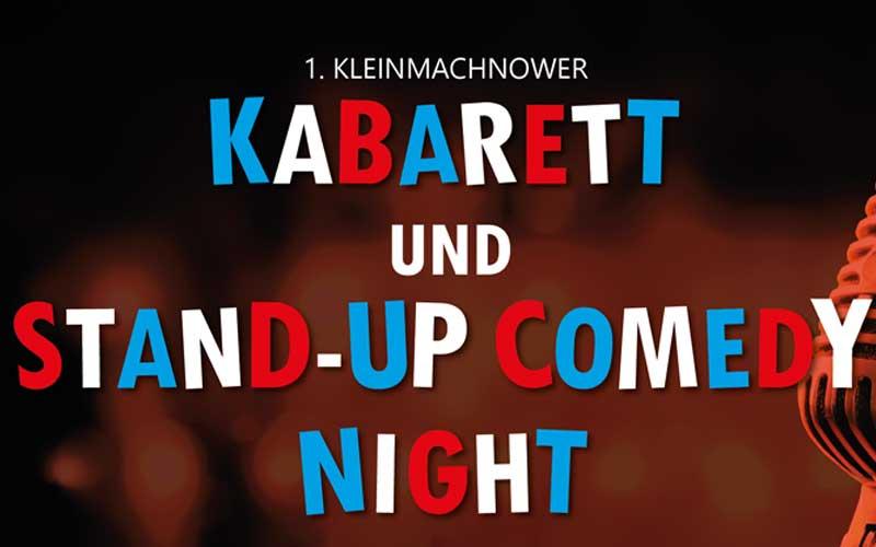 1. Kleimachnower Kabarett und Stand-Up Comedy Night